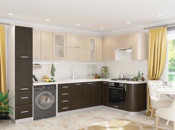Модульная угловая кухня Джулия